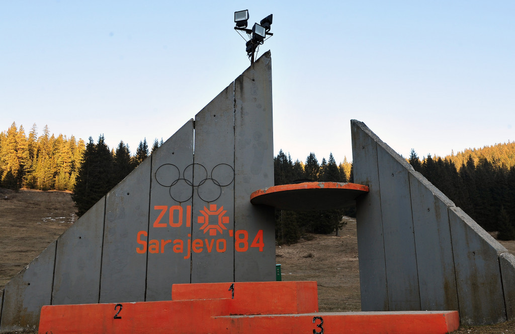 Sarajevo, the 1984 Winter Olympic host, will stage the luge training course ©Getty Images