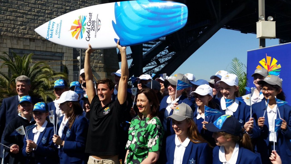 Double Olympic bronze medallist Cameron McEvoy of Australia has been named as the second Gold Coast 2018 ambassador ©GC2018