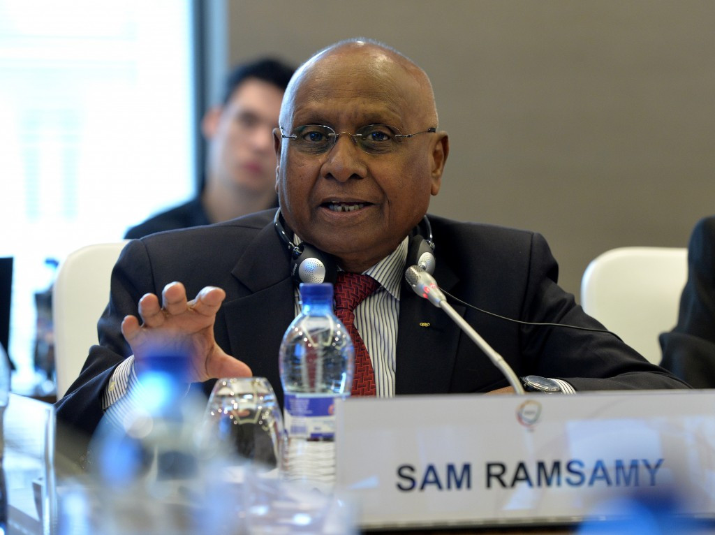 South Africa's Sam Ramsamy has been appointed the official representative of the IOC at the Opening Ceremony ©Getty Images