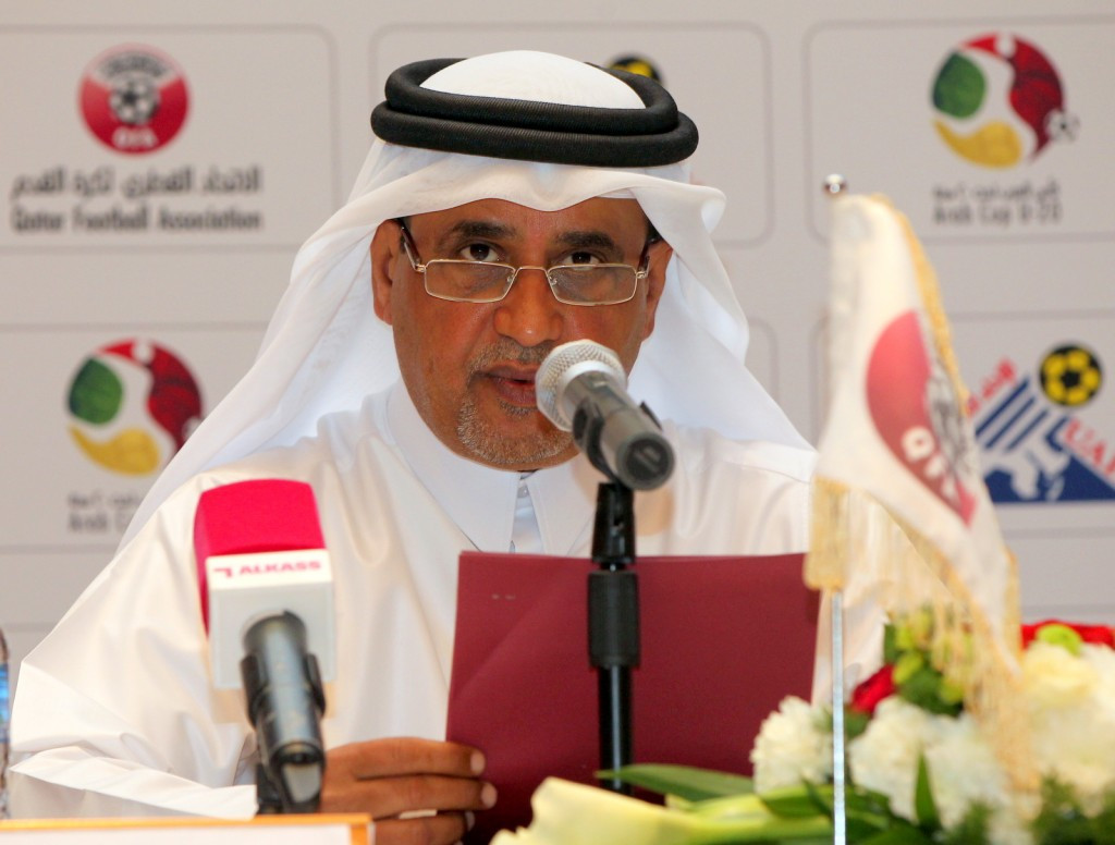 QFA vice-president Saoud Al-Mohannadi is charged with a series of ethics breaches ©QFA
