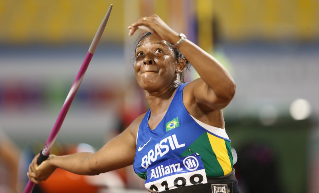 Defending javelin champion chosen as Brazil's flagbearer for Rio 2016 Paralympic Games Opening Ceremony
