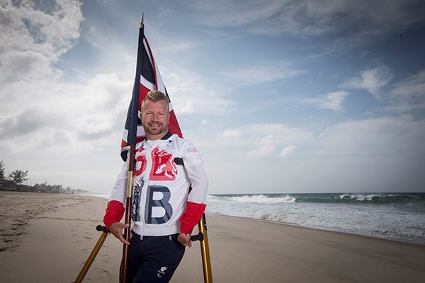 Equestrian rider Lee Pearson has been selected as Great Britain's flagbearer ©ParalympicsGB