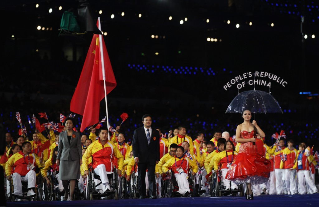 The partnership between Sina Sports and the IPC is designed to help raise the profile and increase awareness of the Paralympic Games in China ©Getty Images