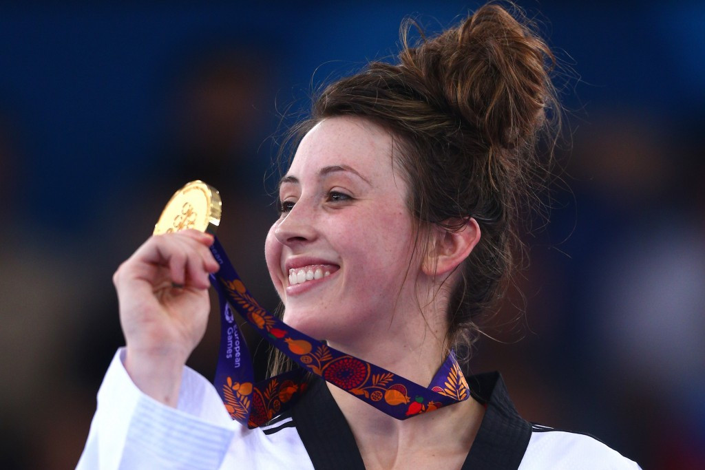 Jade Jones claimed European gold today in Montreux ©Getty Images