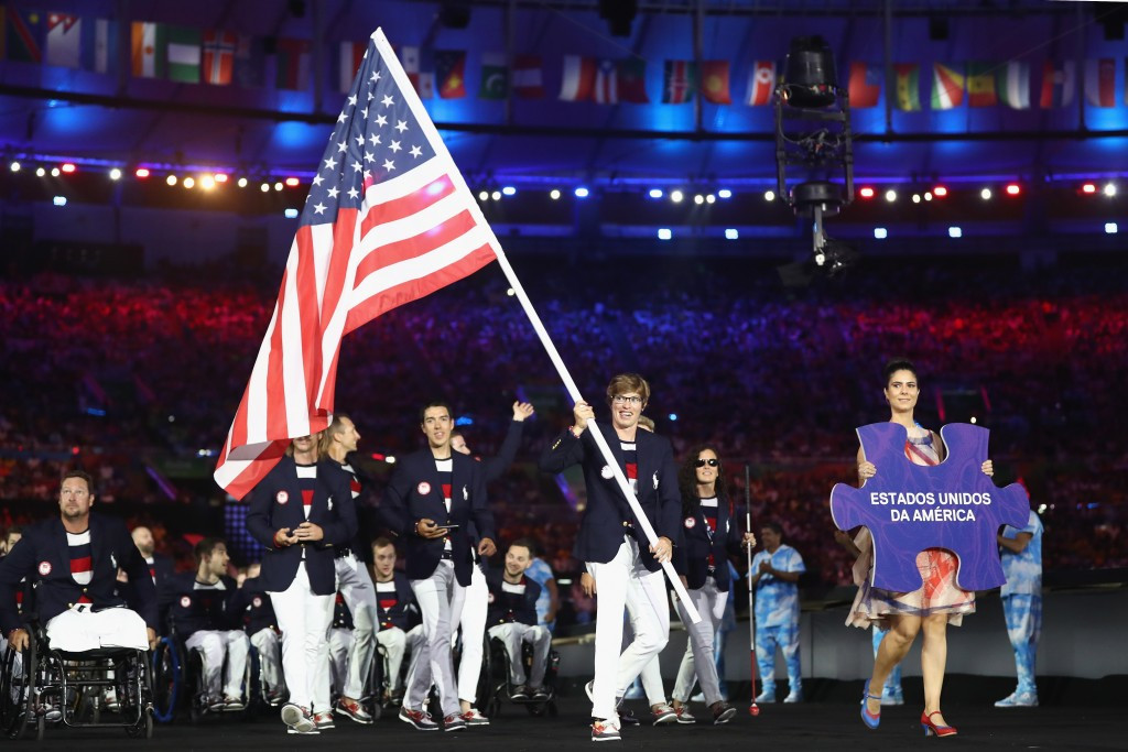 BP currently supports 10 National Paralympic Committees, including that of the United States ©Getty Images