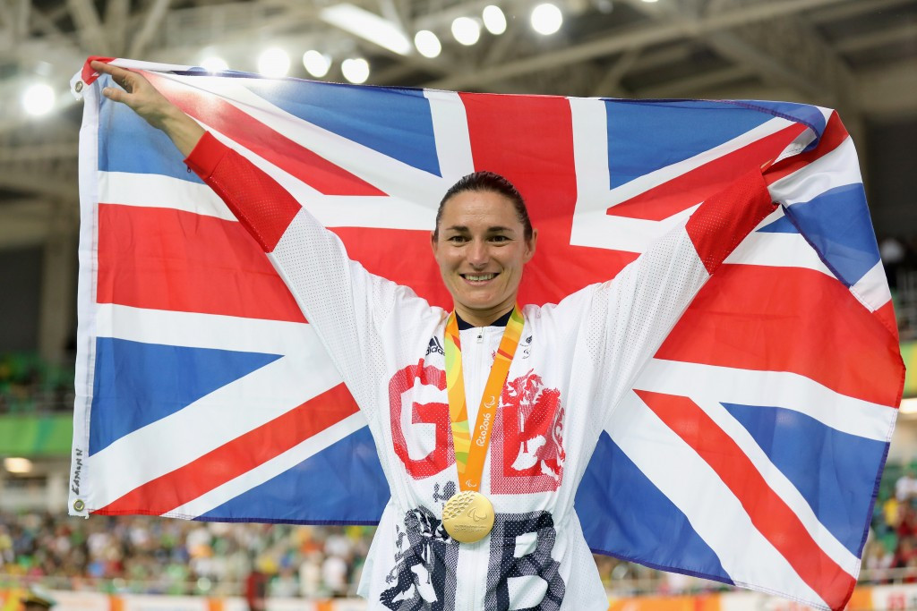 Dame Sarah Storey becomes Britain's most successful female Paralympian with 12th gold