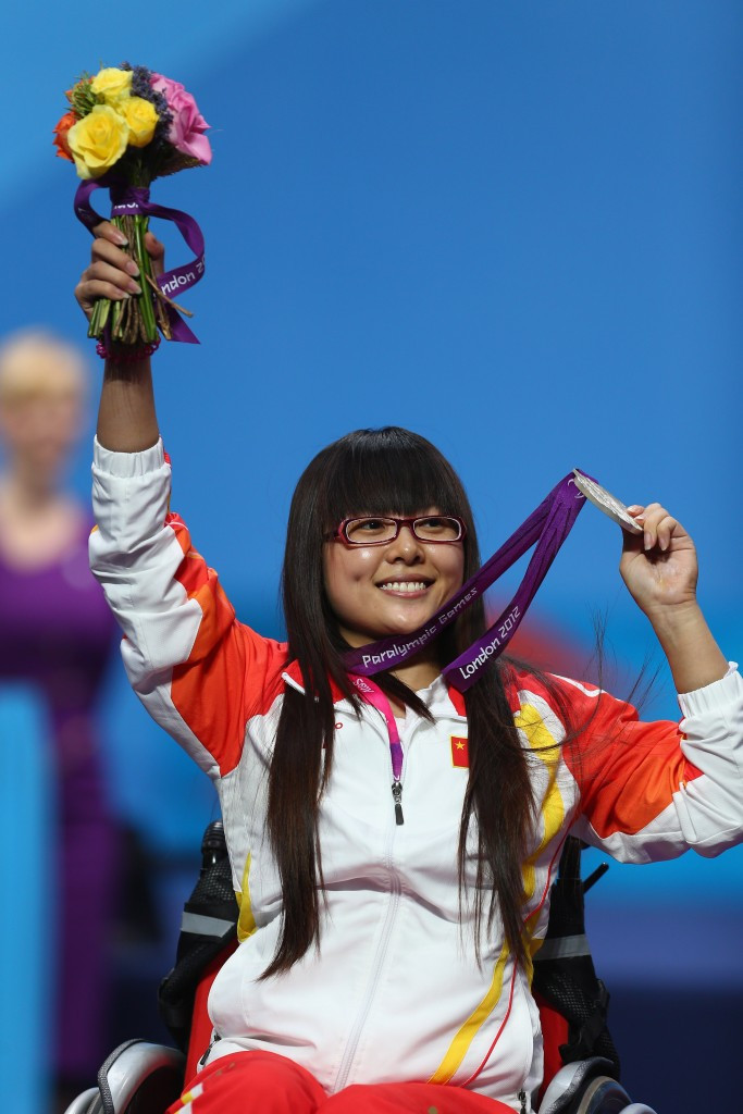 Cui Zhe added another silver medal to her collection alongside the one she won at London 2012 ©Getty Images