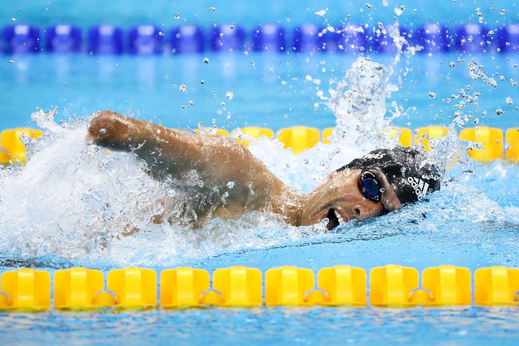 Swimming superstar Dias delights home crowd as bid to make Paralympic history begins on right note