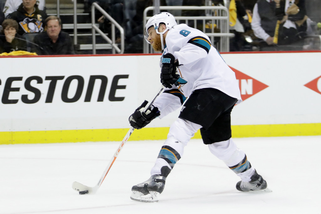 Joe Pavelski has been named as captain of the United States team for the World Cup of Hockey ©Getty Images