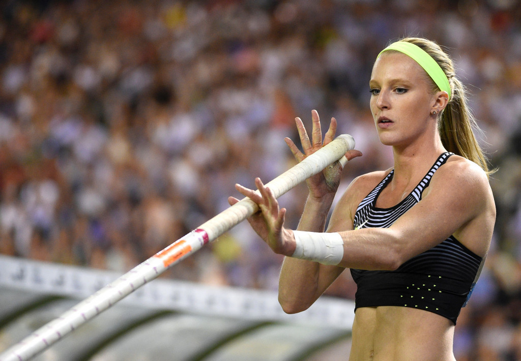 Morris stars at IAAF Brussels Diamond League in becoming second pole vaulter after Isinbayeva to clear 5m outdoors
