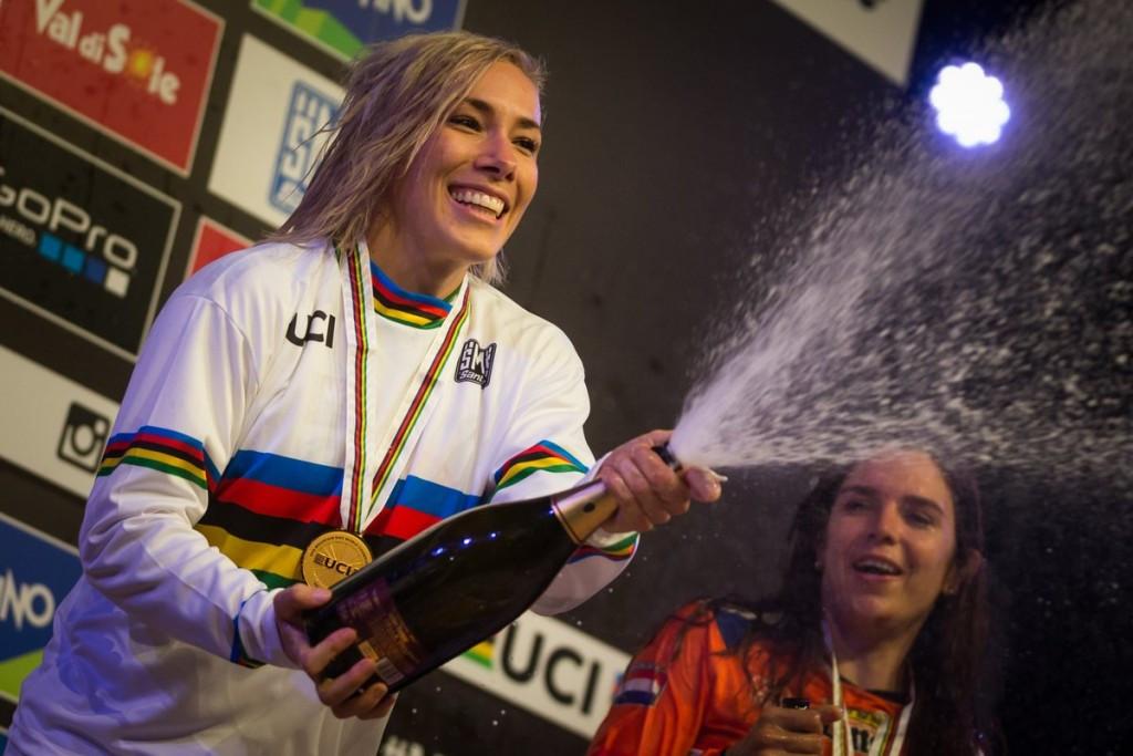 Buchanan wins fourth women's four cross UCI Mountain Bike World Championship title