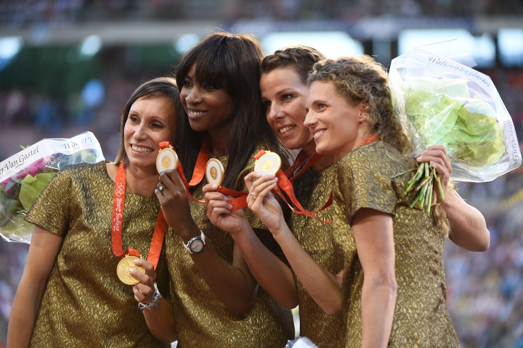 Coe and Hansen hail belated Olympic gold for Belgian women's 4x100m team following Russian doping positive