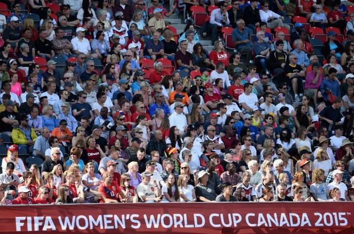 Women's World Cup group stage attracts record television audiences