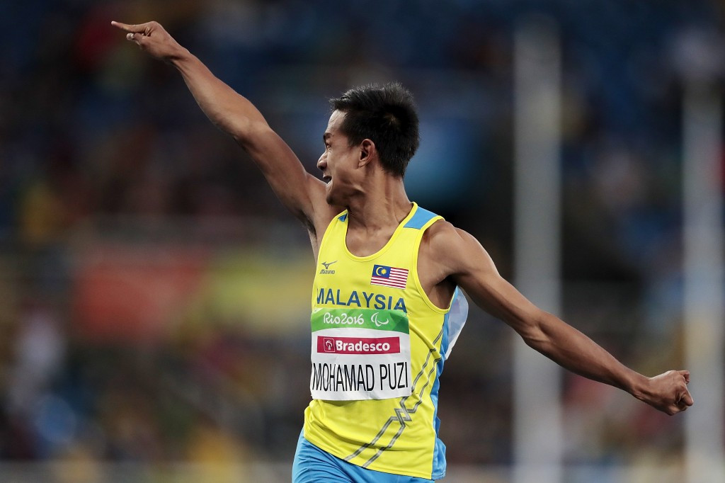 Malaysia end long wait for Paralympic gold with two in one night of athletics action at Rio 2016