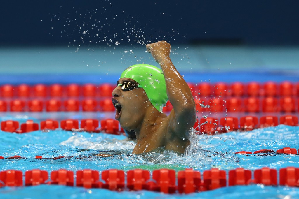 Swimmer Serrano wins Colombia's first Paralympic gold medal for nearly four decades