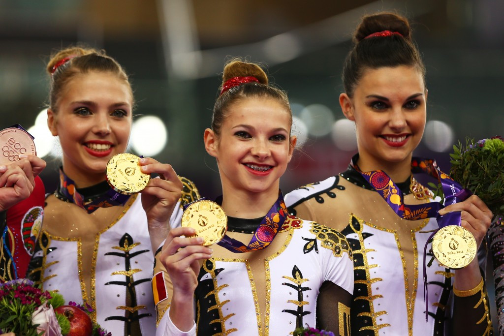 Acrobatic gymnasts earn first European Games gold for Belgium