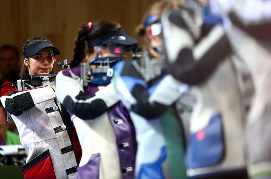 Zublasing breaks finals world record as clinches Baku 2015 shooting gold