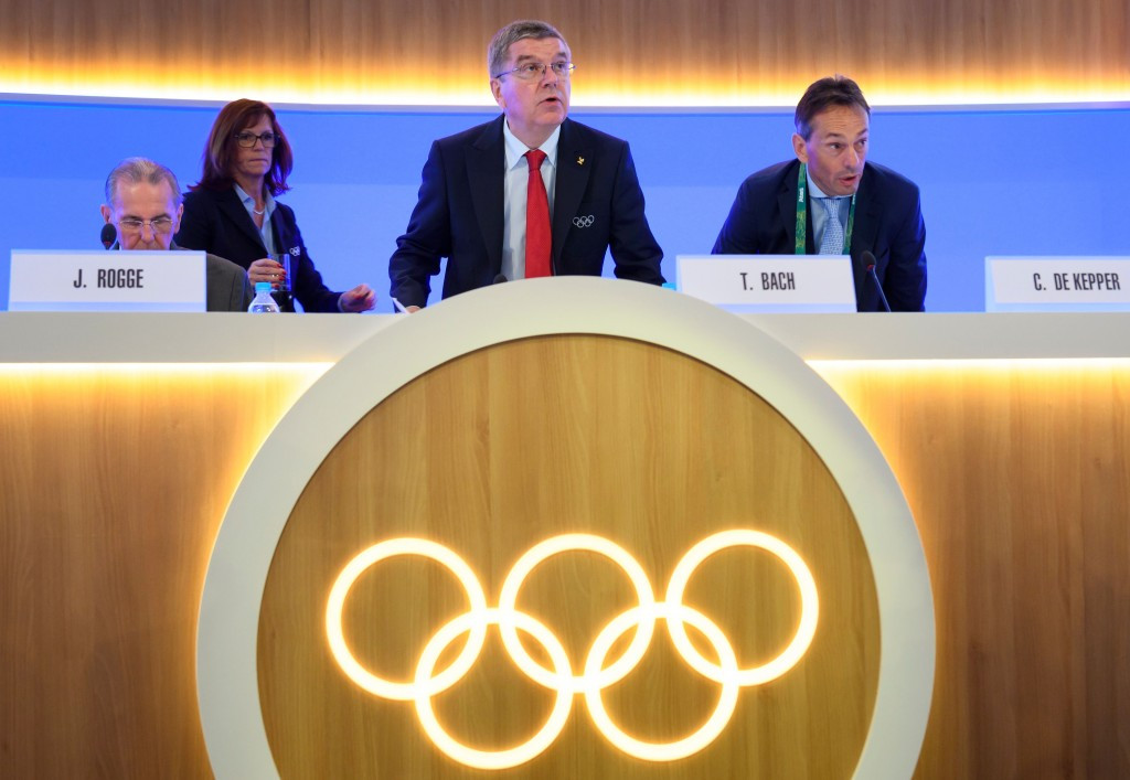The IOC response to Russian doping spearheaded by Thomas Bach has been criticised by David Howman ©Getty Images