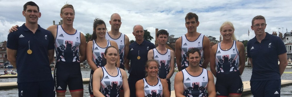 Britain dominated the opening day of rowing finals ©British Rowing