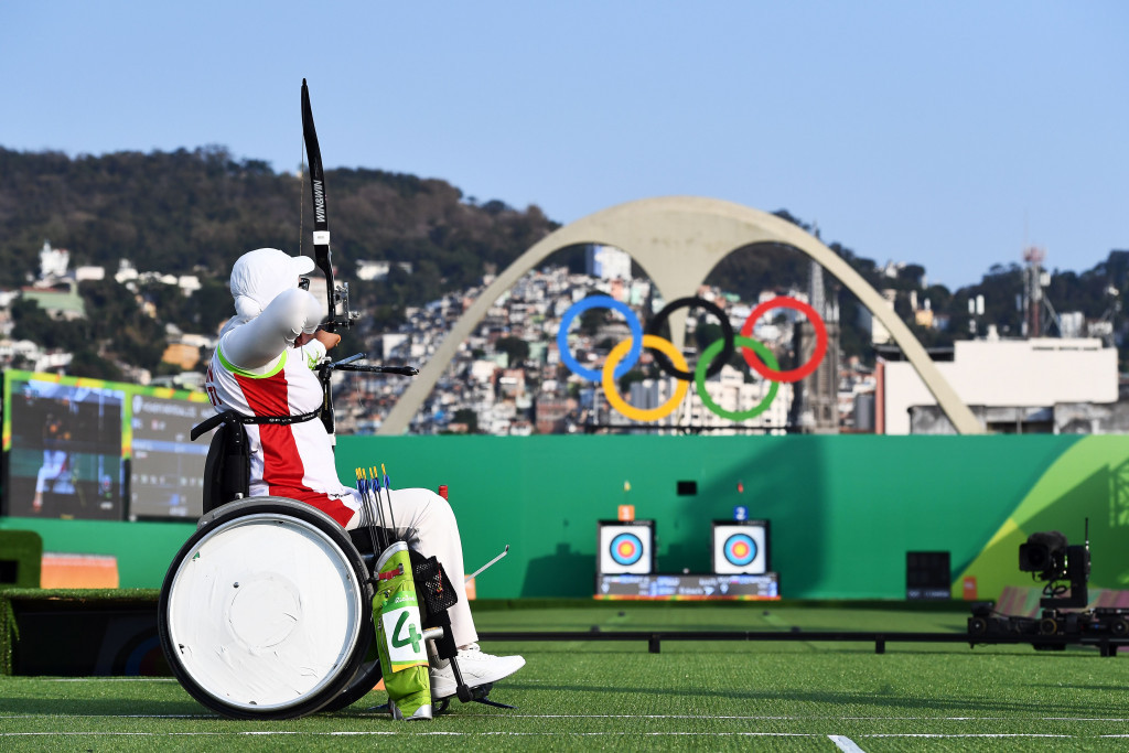 China claim mixed team recurve open gold in first archery event of Rio 2016 Paralympics