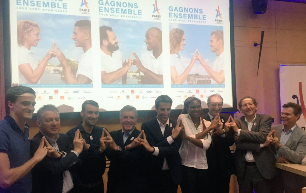 More celebrations are due to take place tomorrow to mark exactly one year until the 2024 host city is due to be announced ©Paris 2024/Twitter