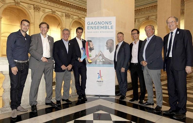 Paris 2024 co-bid chairman Tony Estanguet has met with local business leaders ©Getty Images