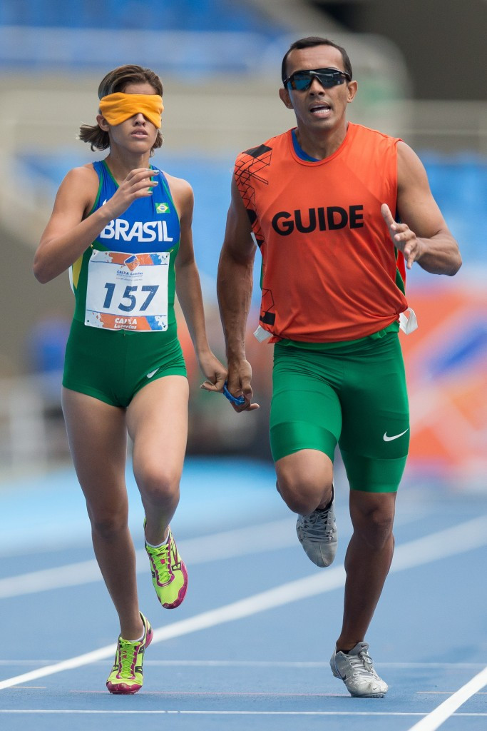 Brazilian guide runner Felipe Veloso da Silva has received a backdated three-month suspension for an anti-doping violation committed in May but it will not affect results at Rio 2016 ©Getty Images