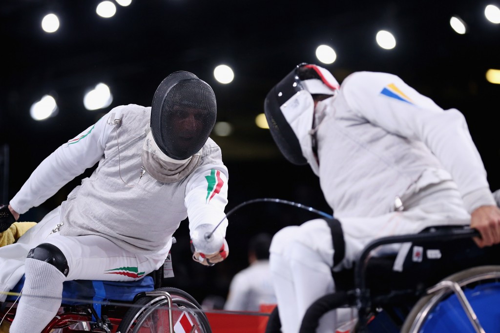 Double Ukrainian gold on opening day of wheelchair fencing finals at Rio 2016
