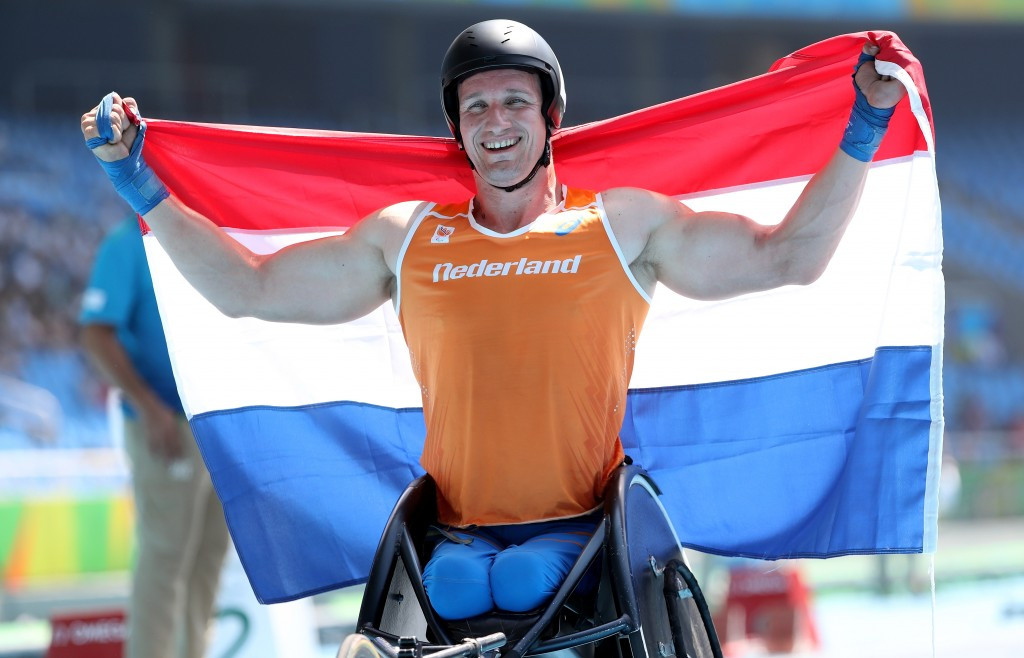 Van Weeghel reclaims men's T54 400m title at Rio 2016 Paralympics after 12-year wait