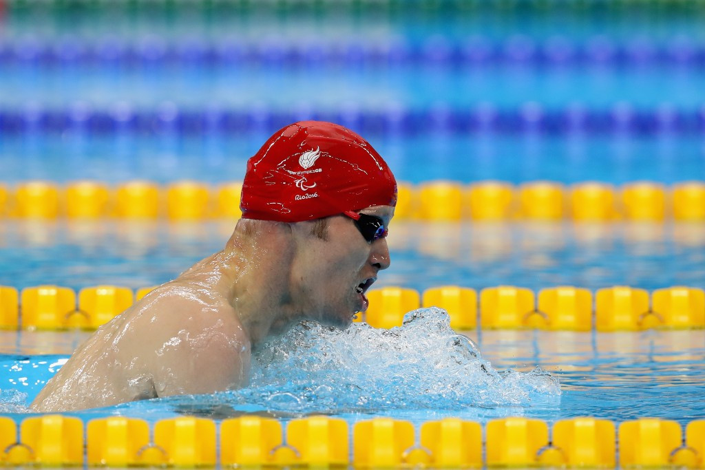 Kindred wins seventh Paralympic gold medal as Britain enjoys successful day of swimming at Rio 2016