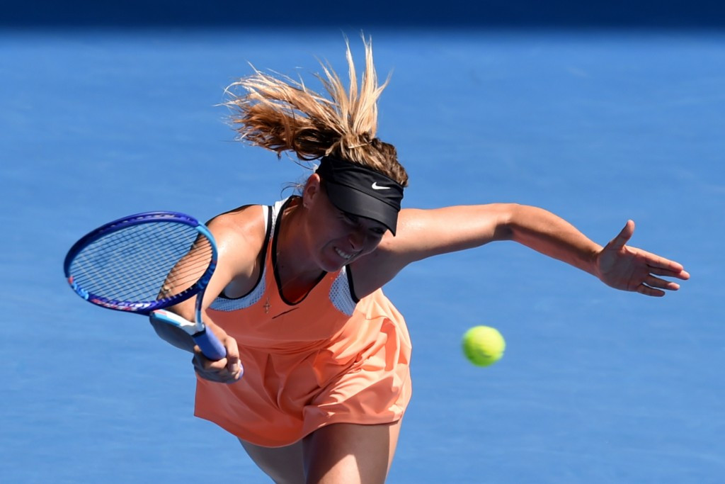 Maria Sharapova will find out next month whether a two-year doping ban has been reduced ©Getty Images