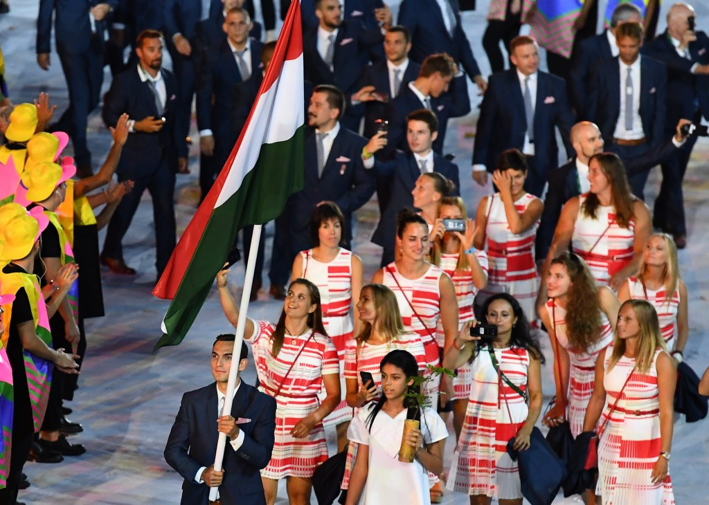 Hungary won a total of 15 Olympic medals, including eight gold, at Rio 2016 ©Getty Images