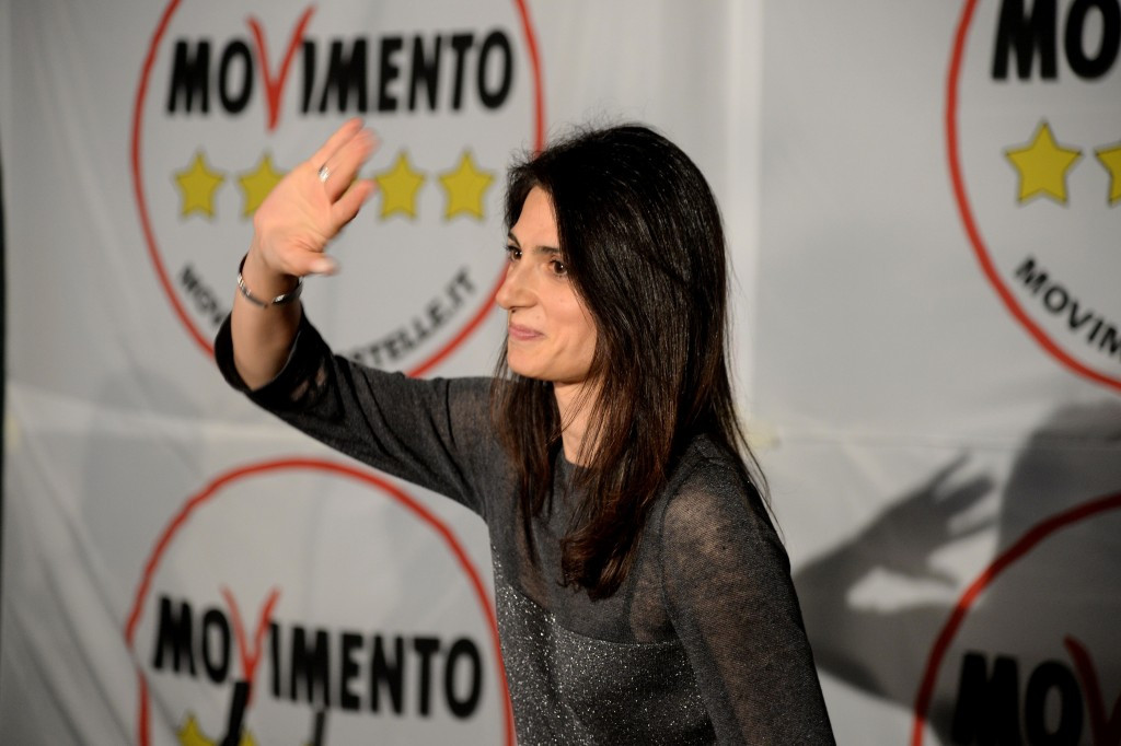 Rome 2024 must convince the city's new Mayor Virginia Raggi to back them if their campaign is to continue ©Getty Images