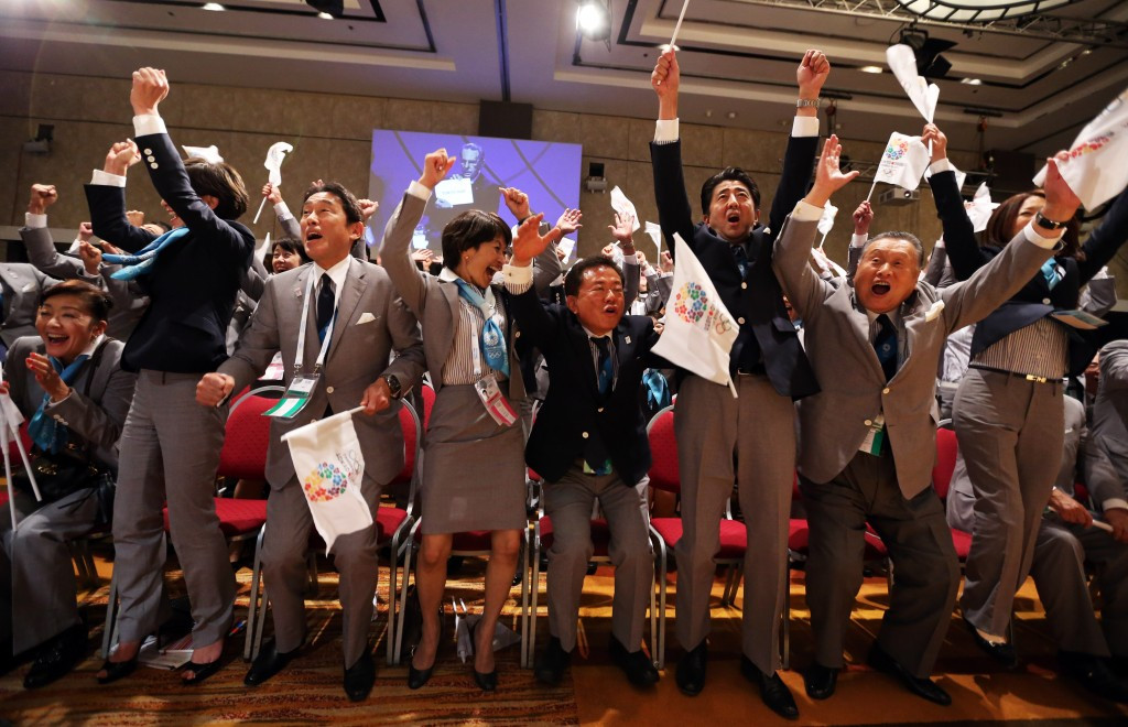 Tokyo were awarded the 2020 Olympics and Paralympics at the IOC Session in Buenos Aires in 2013 but only after the tide turned in their favour late in the bid race against rivals Istanbul and Madrid ©Getty Images