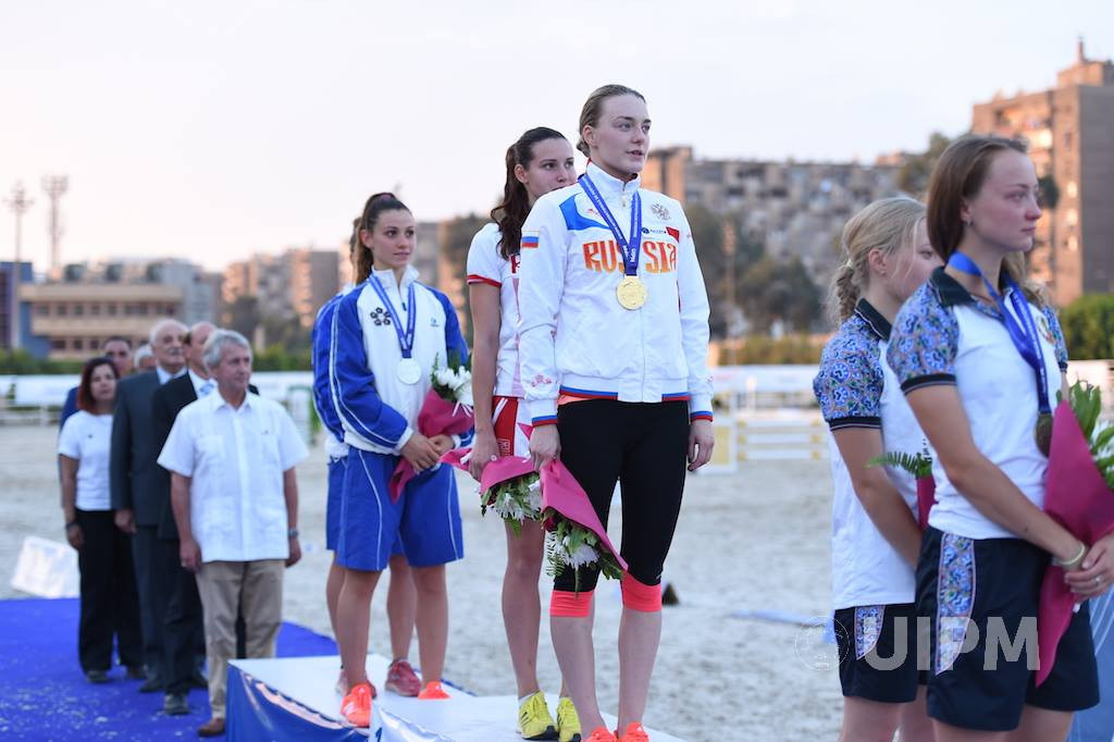 Russian duo win women's relay title on opening day of UIPM Junior World Championships