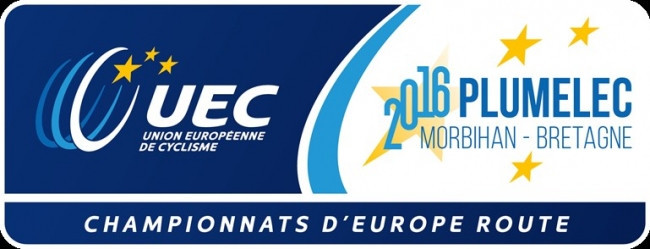 The European Road Cycling Championships got underway in Plumelec today ©UEC