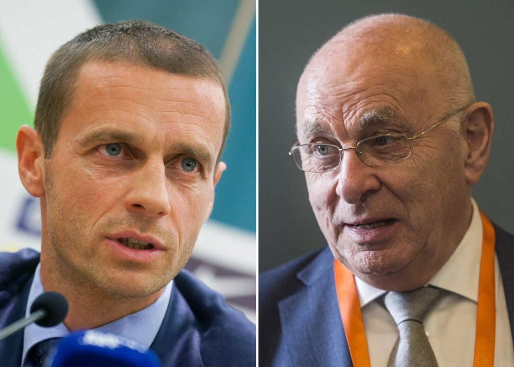 Čeferin pushes further ahead of Van Praag in race for UEFA Presidency as Congress prepares for vote in Athens