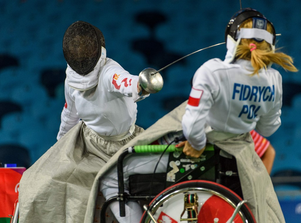 China secure hat-trick of wheelchair fencing gold medals at Rio 2016 Paralympics
