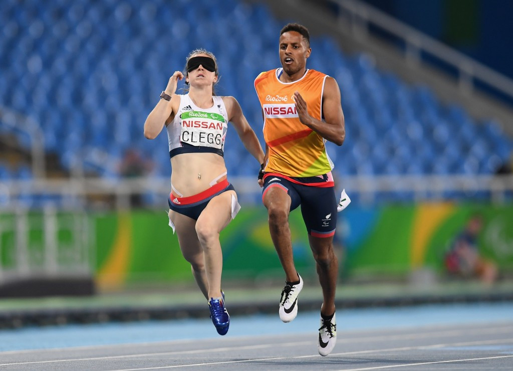 Clegg powers to second gold medal as Paralympic icon Guilhermina is disqualified on dramatic day of athletics at Rio 2016