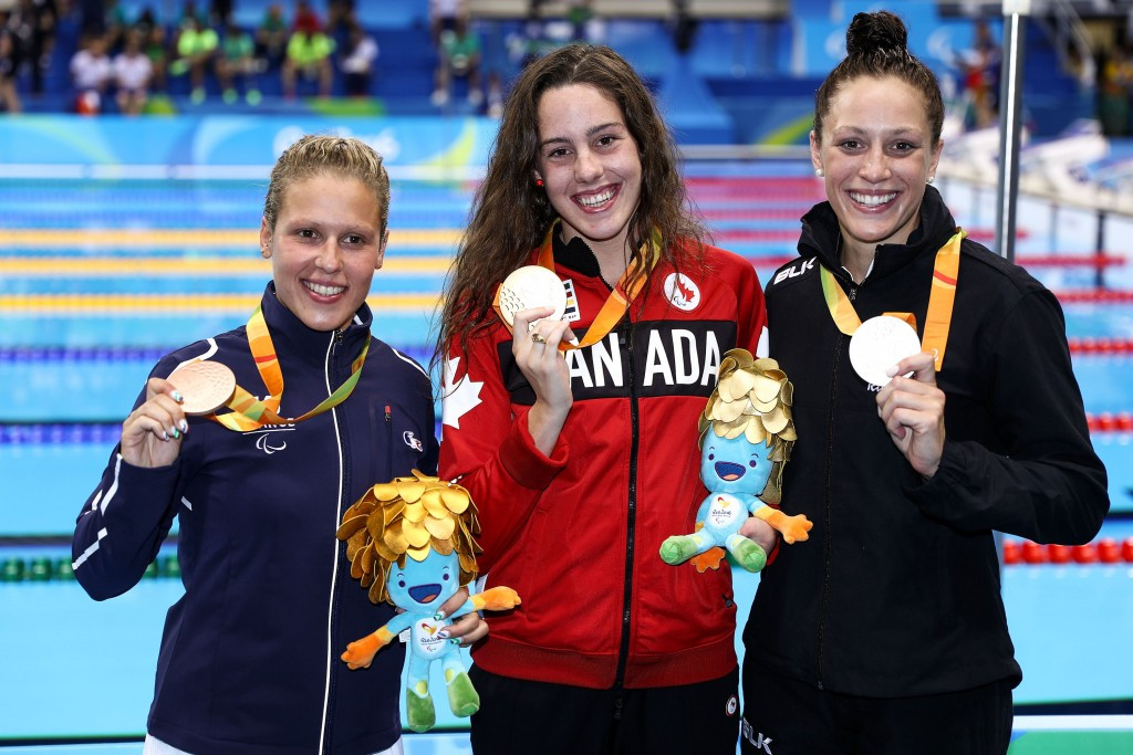 Canada's Rivard holds off rival Pascoe to claim Rio 2016 Paralympic swimming gold
