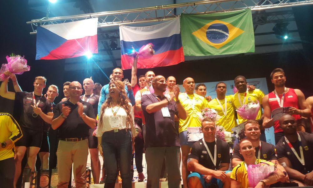 Brazil among medallists at IBSF Push World Championships