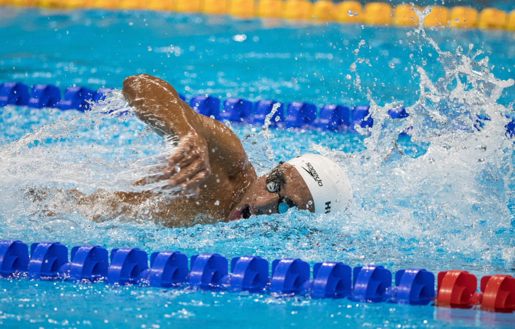 Ibrahim Al-Hussein set two personal bests at the Rio 2016 Paralympic Games ©Getty Images