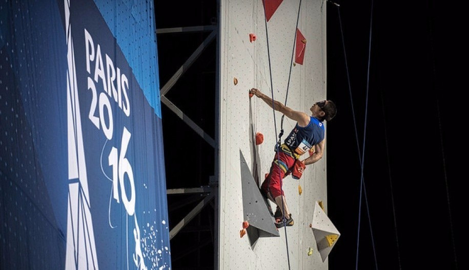 The World Paraclimbing Championships are being held simultaneously in Paris ©IFSC