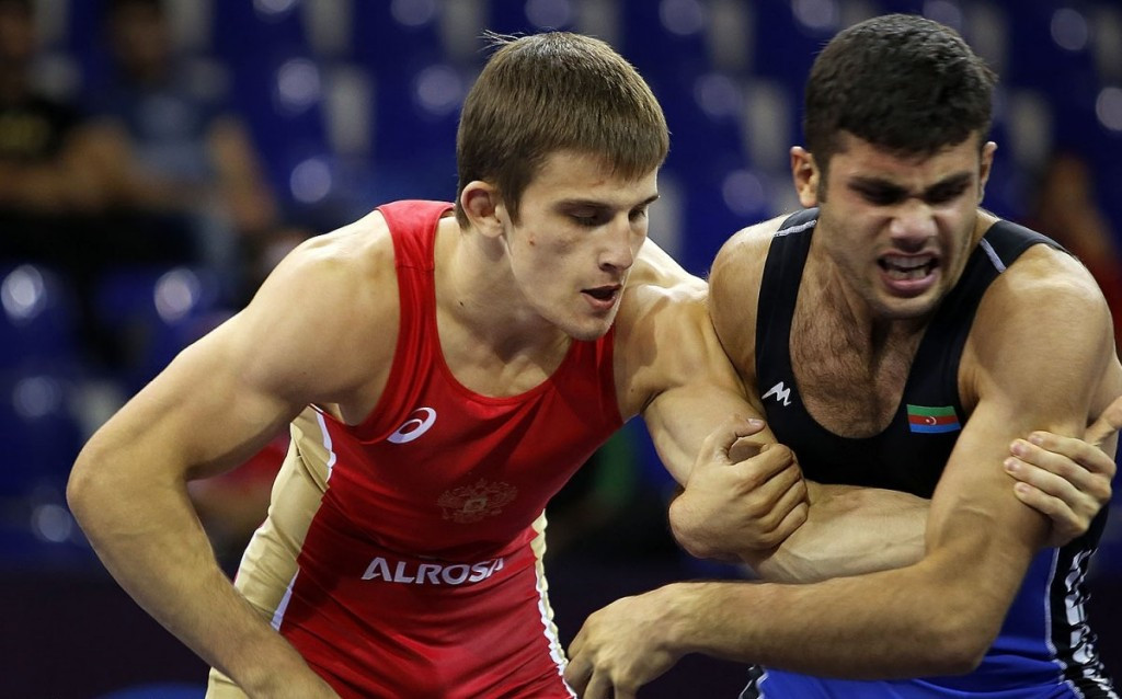 Komarov defends title as Greco-Roman competition concludes at Cadet World Wrestling Championships