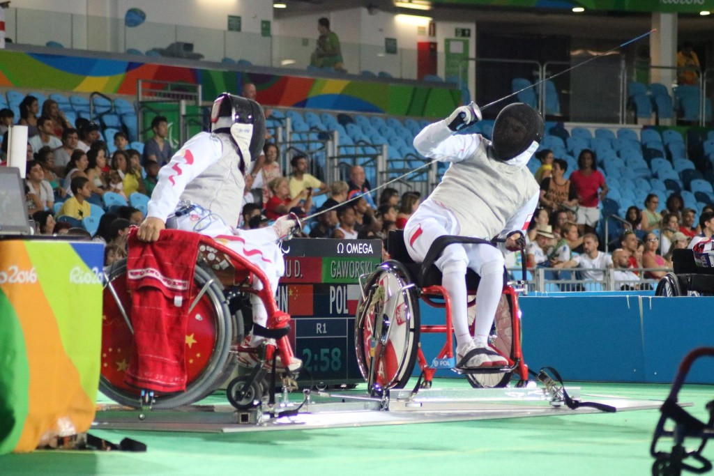 China also enjoyed another successful day in wheelchair fencing as they sealed a hat-trick of gold medals ©Facebook