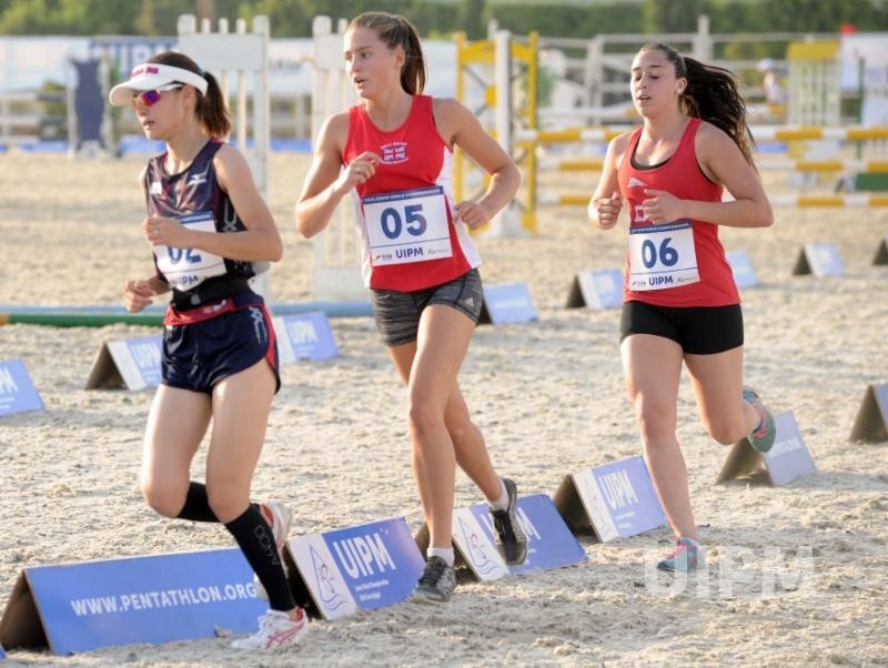 Women's qualification took place in Cairo today ©UIPM