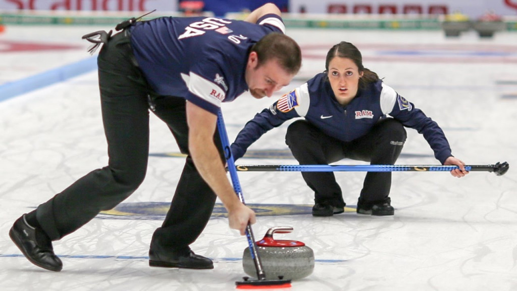Mixed doubles curling camp to be held as sport prepares for Olympic debut at Pyeongchang 2018