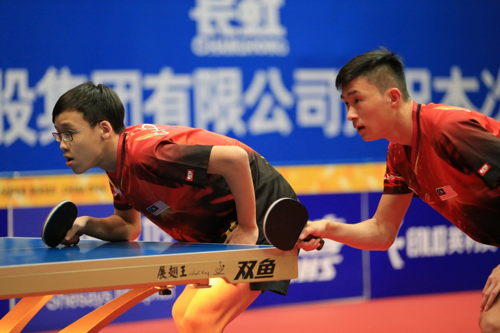 Choong and Leong end torrid Malaysian run with doubles victory at ITTF China Open