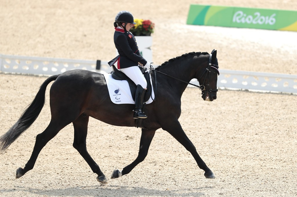 Britain have defended their team-title at the Rio 2016 Para-dressage competition ©Getty Images
