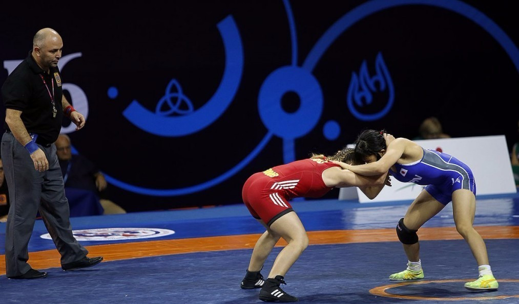 Sasaki wins third freestyle title at Cadet Wrestling World Championships